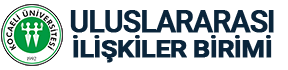 Kocaeli Üniversitesi Uluslararası İlişkiler Birimi Logo